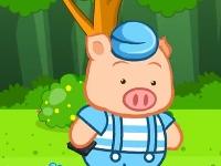 小猪捡钱包