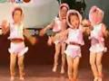 兒童舞蹈洋娃娃的舞會