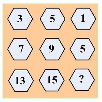 五年级奥数难题汇编精选:九宫格游戏图片